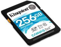 Подробнее о Kingston Canvas Go SDXC 256GB C10 UHS-I U3 SDG/256GB