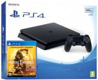 Подробнее о Sony Playstation 4 Slim 500GB + Mortal 11