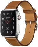 Подробнее о Apple Watch Hermes Series 4 GPS + LTE (MU6V2) 44mm Stainless Steel Case with Fauve Barenia Leather Single Tour