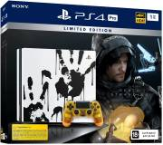 Подробнее о Sony PlayStation 4 Pro 1Tb Black (Death Stranding) Limited Edition