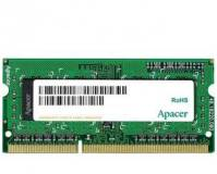 Подробнее о Apacer So-Dimm DDR3 4GB 1333MHz CL9 AS04GFA33C9TBGC