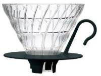 Подробнее о HARIO V60   (Dripper) 02 Glass black V60  (Dripper) 02 Glass black