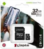 Подробнее о Kingston Canvas Select Plus microSDHC 32GB + adapter SDCS2/32GB