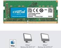 Подробнее о Crucial So-Dimm for Mac DDR4 8GB 2666MHz CL19 CT8G4S266M