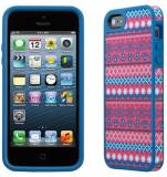 Подробнее о Speck iPhone 5 FabShell DigiTribe Pink/Blue SP-SPK-A1591