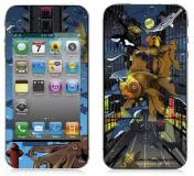 Подробнее о Bodino Crosstown Traffic by Wesly George Gibs iPhone 4 Skin 70066