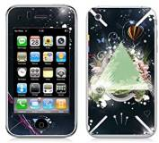 Подробнее о Bodino Flowertriangle by Teis Albers Skin iPhone 3G/3GS 70031