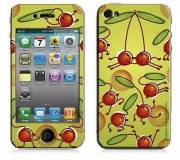Подробнее о Bodino Cherry Hop by Valentine Edelmann iPhone 4 Skin 70065