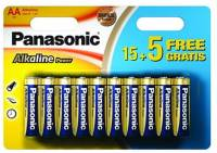 Подробнее о Panasonic AA bat Alkaline 20шт Alkaline Power LR6REB/20BW