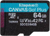 Подробнее о Kingston Canvas Go Plus microSDXC 64GB SDCG3/64GBSP