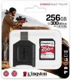 Подробнее о Kingston Canvas React Plus Kit SDXC 256GB + Reader MLPR2/256GB