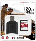 Подробнее о Kingston Canvas React Plus Kit SDXC 128GB + Reader MLPR2/128GB