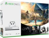 Подробнее о Microsoft Xbox One S 1Tb White All-Digital Edition +ASSASSIN'S CREED UNITY XBOX ONE S 1Tb ALL DIGITAL EDITION