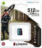 Подробнее о Kingston Canvas Go Plus microSDXC 512GB SDCG3/512GBSP