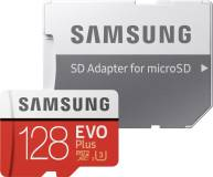 Подробнее о Samsung EVO Plus V2 microSDXC 128GB + adapter MB-MC128HA/RU