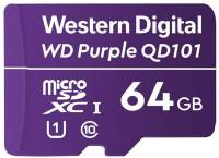 Подробнее о Western Digital WD Purple QD101 microSDXC 64GB WDD064G1P0C