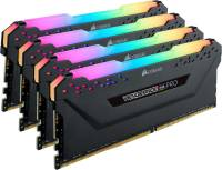 Подробнее о Corsair Vengeance RGB PRO Black DDR4 32GB (4x16GB) 3200NHz CL16 Kit CMW32GX4M4Z3200C16