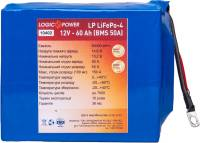 Подробнее о LogicPower LiFePo-4 12V - 60 Ah (BMS 50A) LP10402