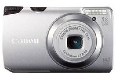 Фотоаппарат Canon Powershot A3200 IS Silver 5039B017