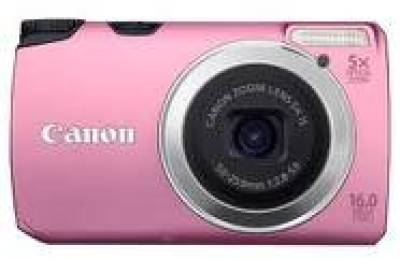 Фотоаппарат Canon Powershot A3300 IS Pink 5034B018
