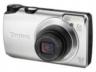 Фотоаппарат Canon Powershot A3300 IS Silver 5033B018