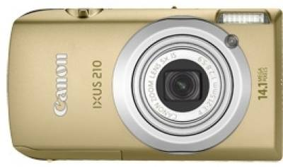 Фотоаппарат Canon IXUS 210 IS Gold 4199B016