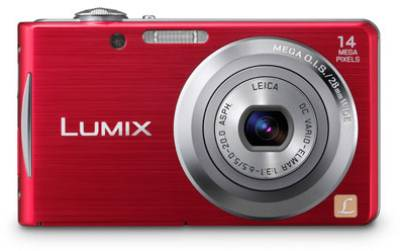 Фотоаппарат Panasonic DMC-FS16 (Red) DMC-FS16EE-R