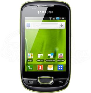 Смартфон Samsung Galaxy GT-S5570 mini (Lime Green) GT-S5570EGJSEK
