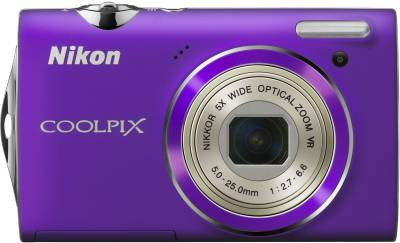 Фотоаппарат Nikon CoolPix S5100 (Purple)