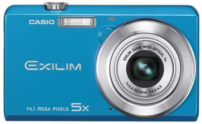 Фотоаппарат Casio Exilim EX-ZS10 (Blue) EX-ZS10BEECE