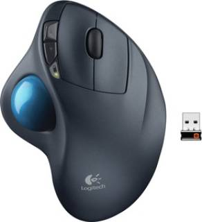 Мышка Logitech Wireless Mouse M570 (Black) USB 910-002090