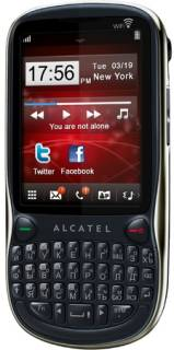Смартфон Alcatel OT-806D Dual (Black) 806DX-2AALUA1