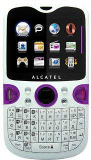 Смартфон Alcatel OT-802 (White-Lavender) 802X-2СALUA1