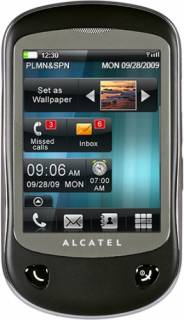 Смартфон Alcatel OT-710D Dual (Carbon) 710DX-2СALUA1