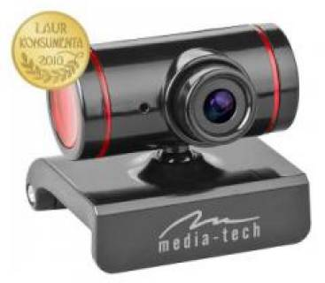 Веб-камера Media-Tech Z-Cam  (Black-Red) MT4029R