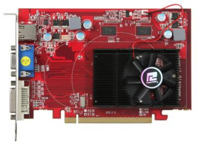 Видеокарта PowerColor Radeon HD 4650 1GB AX4650 1GBK3-H