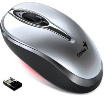 Мышка Genius Wireless Traveler 900, 1600dpi Silver 2.4G, USB 31030021106