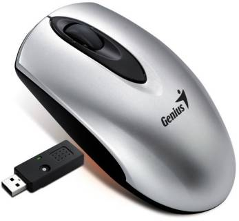 Мышка Genius RS Traveler 1000 Laser, USB, Metallic 31030415102