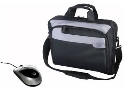 HP Deluxe Carrying Case and Mobile Mouse Bundle NM963AA