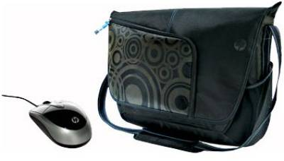 HP Premium Messenger Case and Mobile Mouse NM964AA