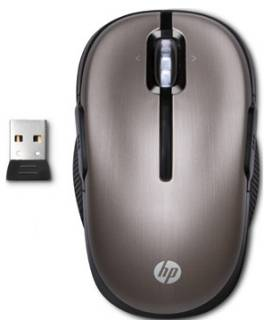 Мышка HP Wireless Laser Mobile Mouse Argento Blush WX406AA