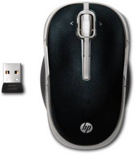 Мышка HP Wireless Laser Mobile Mouse Speedy VK482AA#ABB