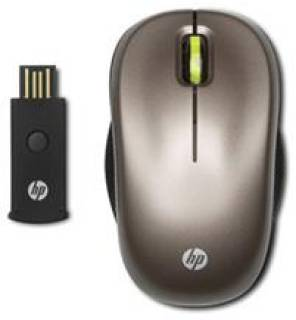 Мышка HP Wireless Optical Mobile Mouse (Biscotti) WX413AA