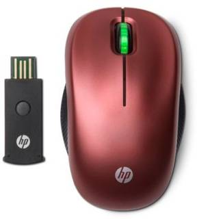 Мышка HP Optical wireless mouse (Jerry Red) WE788AA