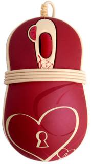 Мышка A4Tech G-CUBE GOE-6DS Enchanted Heart (Red)