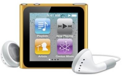 MP3 плеер Apple A1366 iPod nano 8GB Orange MC691QB/A