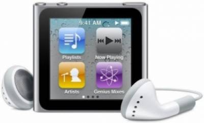 MP3 плеер Apple A1366 iPod nano 16GB Silver MC526QB/A