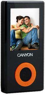 MP3 плеер Canyon CNR-MPV2A 4GB black CNR-MPV2AH