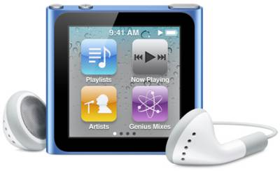 MP3 плеер Apple iPod nano 8Gb blue MC689LL/A