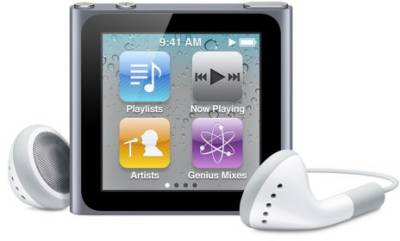 MP3 плеер Apple iPod nano 8Gb graphit MC688LL/A